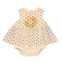 Baby Starters® Size 3M Polka Dot Skirted Bodysuit in White