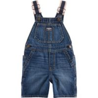 OshKosh B'gosh® Size 3T Dark Wash Denim Overall