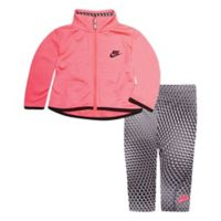 Nike® Size 18M 2-Piece Tricot Jacket and Legging Set in Pink