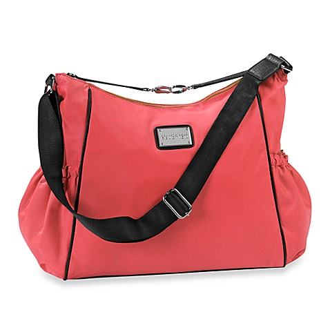 totes kenneth cole reaction home cornelia street hobo diaper bag in coral from buy buy baby. Black Bedroom Furniture Sets. Home Design Ideas