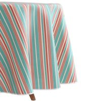 Waverly Lexie Indoor/Outdoor 60-Inch Tablecloth in Blue/Red