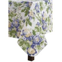 Waverly Alexis Floral Indoor/Outdoor 52-Inch x 70-Inch Oblong Tablecloth in Green