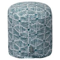 Majestic Home Goods™ Cotton Charlie Ottoman in Emerald