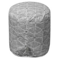 Majestic Home Goods™ Cotton Charlie Ottoman in Gray