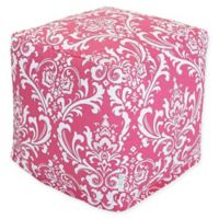 Majestic Home Goods™ Cotton French Quarter Ottoman in Hot Pink