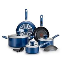 T-Fal® Excite 14-Piece Cookware Set in Blue