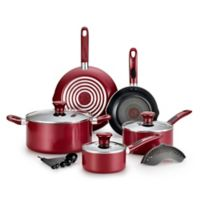 T-Fal® Excite 14-Piece Cookware Set in Red