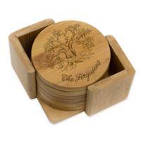 Stamp Out Round Ferguson Tree Coasters (Set of 6)