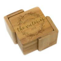Stamp Out Square Victoria Wreath Coasters (Set of 6)