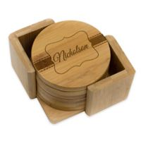 Stamp Out Round Nicholson Coasters (Set of 6)