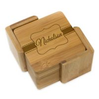 Stamp Out Square Nicholson Coasters (Set of 6)