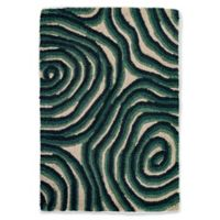 Liora Manne Block Print 2' X 3' Tufted Area Rug in Navy