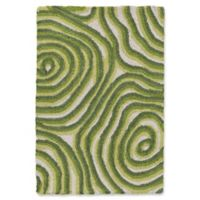 Liora Manne Block Print 2' X 3' Tufted Area Rug in Green