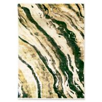 "Liora Manne Dunes 7'10"" X 10' Powerloomed Area Rug in Green"