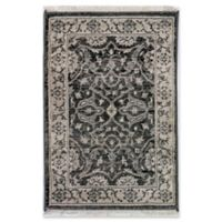 "Liora Manne Oushak 1'11"" X 2'11"" Powerloomed Area Rug in Grey"