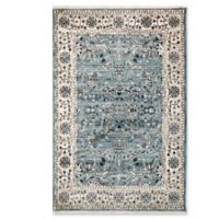 "Liora Manne Oushak 7'10"" X 10' Powerloomed Area Rug in Blue"