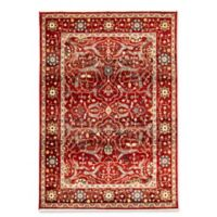 "Liora Manne Oushak 7'10"" X 10' Powerloomed Area Rug in Red"