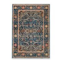"Liora Manne Oushak 7'10"" X 10' Powerloomed Area Rug in Navy"