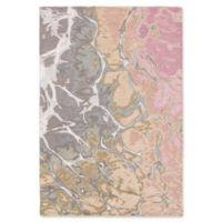 """Liora Manne Water 7'6"""" X 9'6"""" Tufted Area Rug in Pink"""
