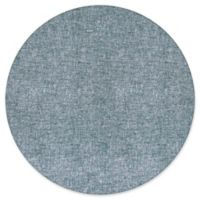 Liora Manne Fantasy 8' Round Tufted Area Rug in Blue