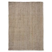 """Liora Manne Texture 7'6"""" X 9'6"""" Woven Area Rug in Natural"""