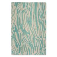 """Liora Manne Marble 8'3"""" X 11'6"""" Tufted Area Rug in Blue"""