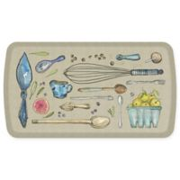 "GelPro® Elite 20"" x 36"" Kitchen Tools Kitchen Mat in Warm Stone"