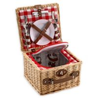 Over and Back® Whitney Picnic Basket For 2 in Natural