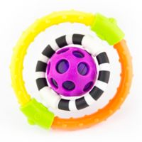 Sassy Spin & Chew Flexible Ring Rattle
