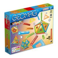 Geomag™ Confetti 50-Piece Magnetic Kit