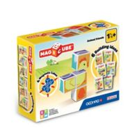Geomag™ Magicube™ 4-Piece Animal Friends Magnetic Cube Set