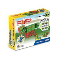 Geomag™ Magicube™ 4-Piece River Animals Magnetic Cube Set