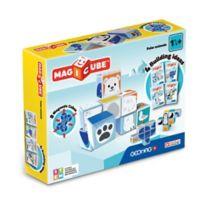 Geomag™ Magicube™ 8-Piece Polar Animals Magnetic Cube Set