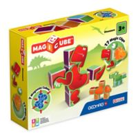 Geomag™ Magicube™ 24-Piece Dinosaurs Magnetic Cube Set