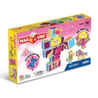 Geomag™ Magicube™ 35-Piece Princess Magnetic Cube Set