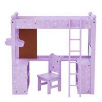 Olivia's Little World Twinkle Stars Princess Doll College Dorm Bed