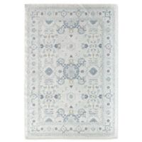 Rugs America Zyra Vintage 5'1 x 7' Power-Loomed Indoor/Outdoor Area Rug in White