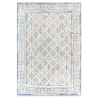 Rugs America Zyra Vintage 8' x 10' Power-Loomed Indoor/Outdoor Area Rug in Ivory