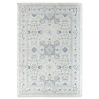 Rugs America Zyra Vintage 8' x 10' Power-Loomed Indoor/Outdoor Area Rug in White