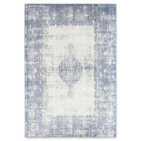 Rugs America Zyra Vintage 8' x 10' Power-Loomed Indoor/Outdoor Area Rug in Light Blue
