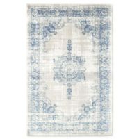 Rugs America Maxwell Vintage 5'1 x 7' Power-Loomed Area Rug in Royal Blue