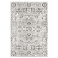 "Rugs America Assent 5'1"" X 7' Power-Loomed Indoor/Outdoor Area Rug in White"