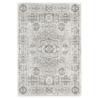 Rugs America Assent 8' X 10' Power-Loomed Indoor/Outdoor Area Rug in White