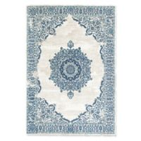Rugs America Assent 8' X 10' Powerloomed Area Rug in Blue