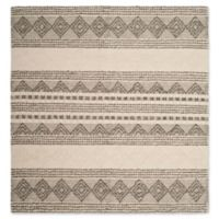 Safavieh Natura Dorinda 6' Square Area Rug in Grey