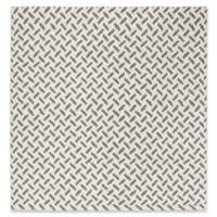 Safavieh Morgan 6' Square Hand-Woven Area Rug in Grey