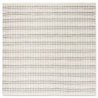 Safavieh Alexis 6' Square Hand-Woven Area Rug in Grey