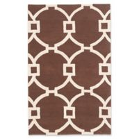 ECARPETGALLERY Monaco 5' X 8' Tufted Area Rug in Dark Brown
