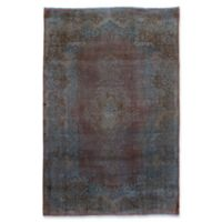 "ECARPETGALLERY Vogue 6'6"" X 10' Hand-Knotted Area Rug in Brown/light Blue"
