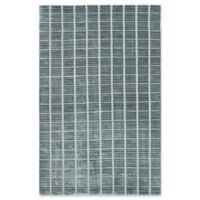 ECARPETGALLERY Shimmer 5' X 8' Hand-Knotted Area Rug in Dark Teal
